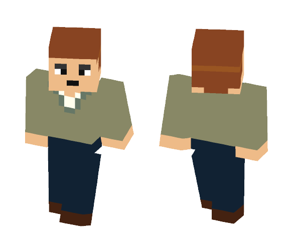 Don from the Ridonculous Race - Male Minecraft Skins - image 1