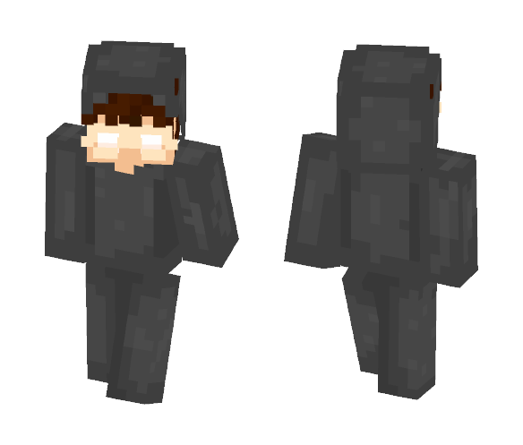 turkish people in gray things - Male Minecraft Skins - image 1