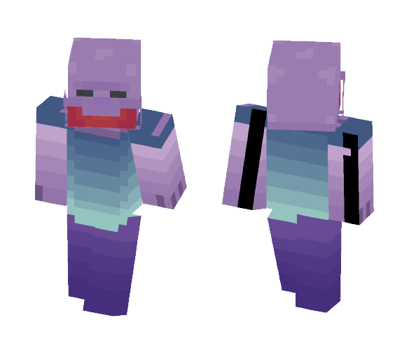 spoopy alien - Interchangeable Minecraft Skins - image 1