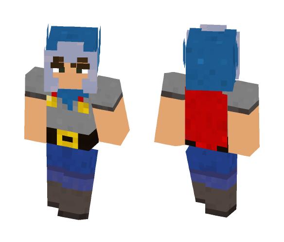 Male Wynncraft Warrior skin - Male Minecraft Skins - image 1