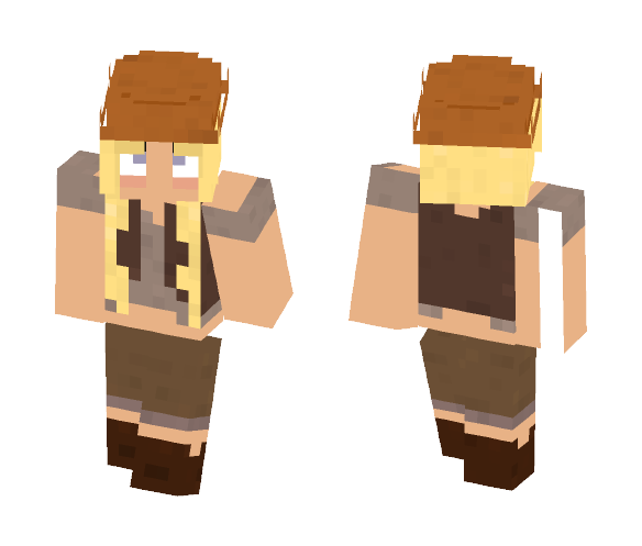Female Wynncraft Mage skin. - Female Minecraft Skins - image 1