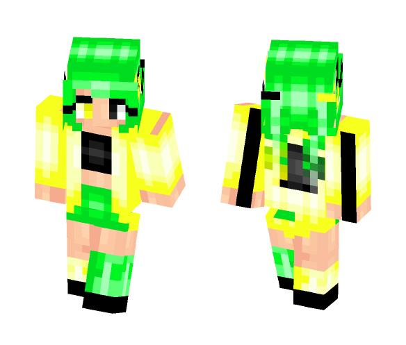 Toxica   Toxic Waste - Female Minecraft Skins - image 1