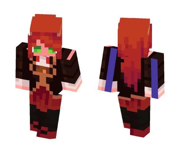 Requested by _Kyoko_Kirigiri_ - Female Minecraft Skins - image 1