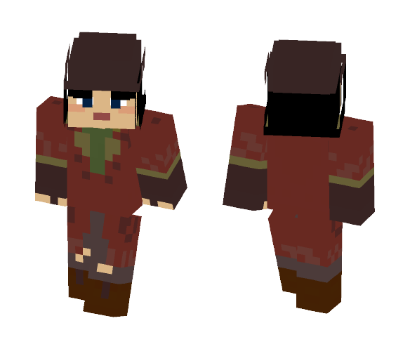 Piper Wright - FALLOUT 4 - Female Minecraft Skins - image 1