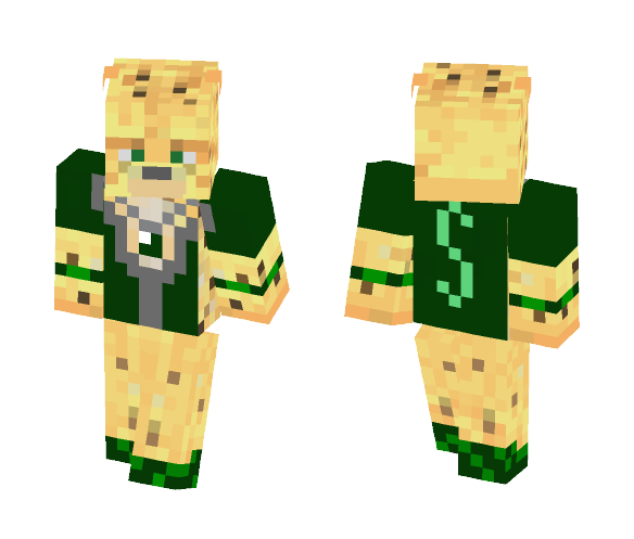 Slytherin Ocelot - Male Minecraft Skins - image 1