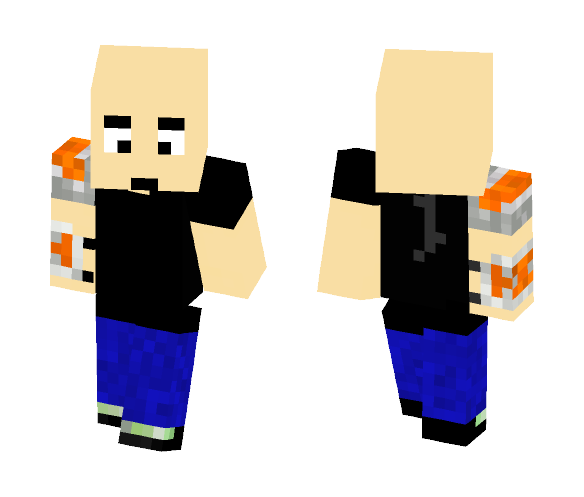 The_Evil_Genius Skin - Male Minecraft Skins - image 1