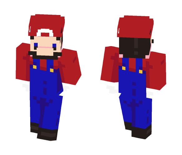 Mario ;Simple (Mario) - Male Minecraft Skins - image 1