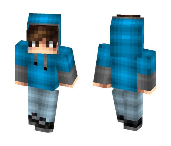 Download Bobgobalena 3 0 Blue Hoodie Minecraft Skin For Free Superminecraftskins