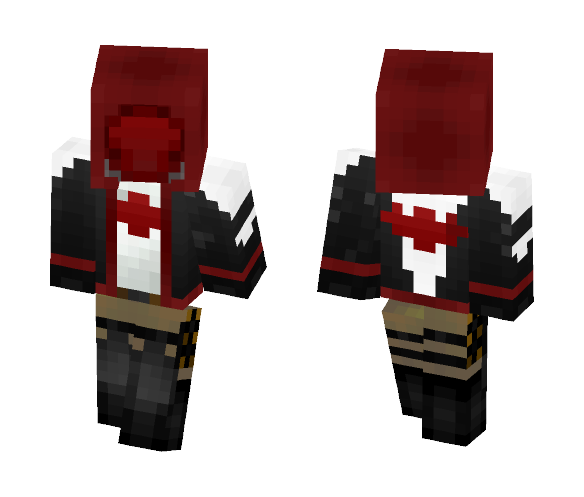 The Red Hood: Batman Arkham Knight - Batman Minecraft Skins - image 1