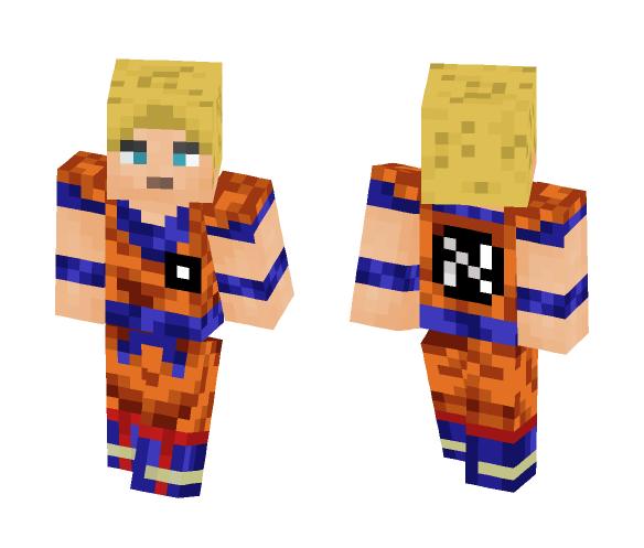 DBZ - Male Minecraft Skins - image 1