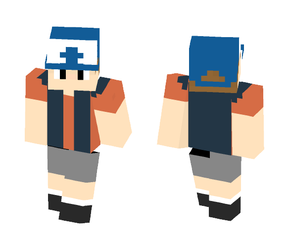 Dipper Pines From Gravity Falls - Male Minecraft Skins - image 1