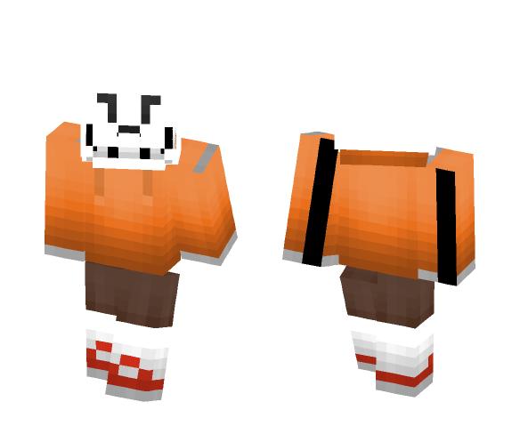 Download Underswap Papyrus (remake) Minecraft Skin for Free