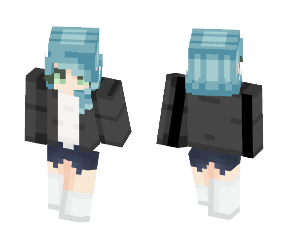 Ocean Dream~ - Female Minecraft Skins - image 1