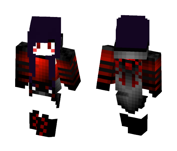MTVampLady Halloween themed - Halloween Minecraft Skins - image 1