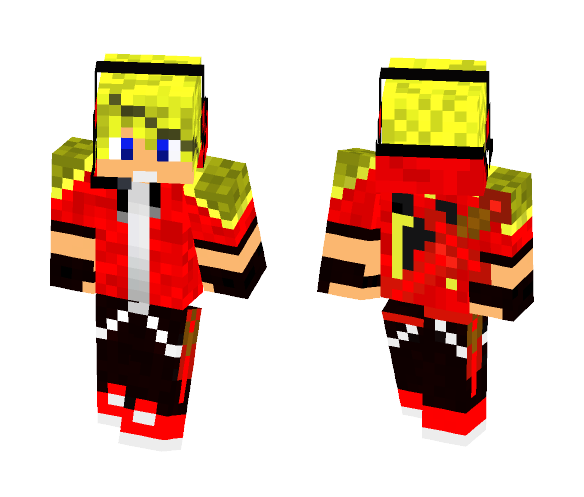 Red Youtuber - Male Minecraft Skins - image 1