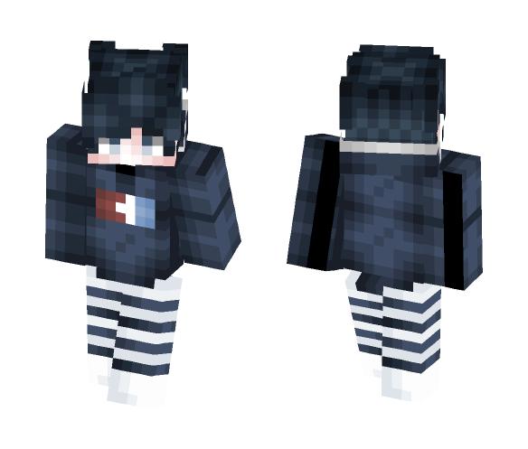 OC ~ Ocean Rain ( New Shading - Male Minecraft Skins - image 1