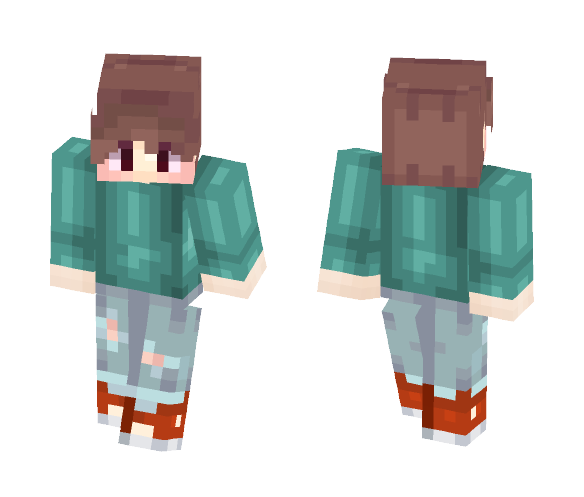 |#|Weekend's Afternoon|#| - Male Minecraft Skins - image 1