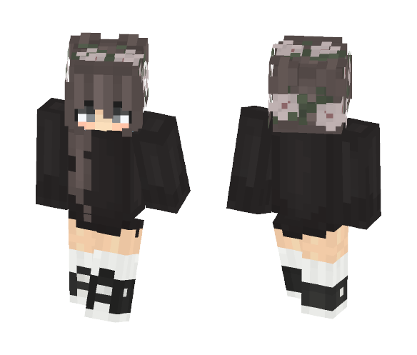 Irdk But Aye Its Pretty - Female Minecraft Skins - image 1