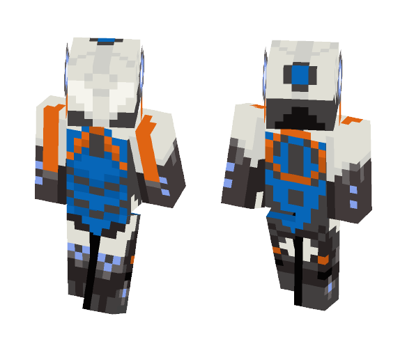 warframe minecraft skins