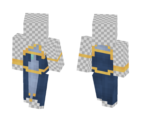 ⊰ Greek Blue Goddess ⊱ - Female Minecraft Skins - image 1