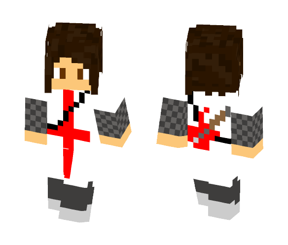 Download Guitarist Knight (NSP Minecraft Skin for Free