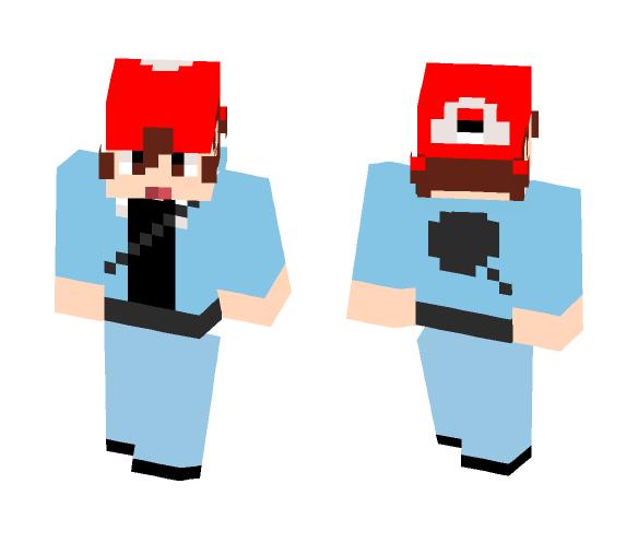 Custom Pokemon trainer Josh - Male Minecraft Skins - image 1