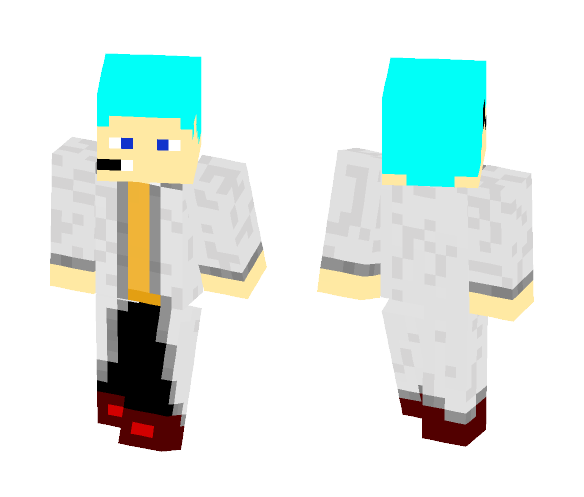 My Friends Lab coat skin! - Male Minecraft Skins - image 1