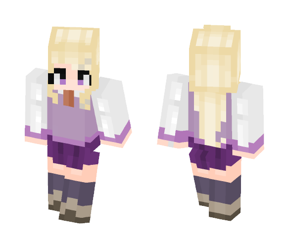 Kaede Akamatsu / Danganronpa V3 - Female Minecraft Skins - image 1