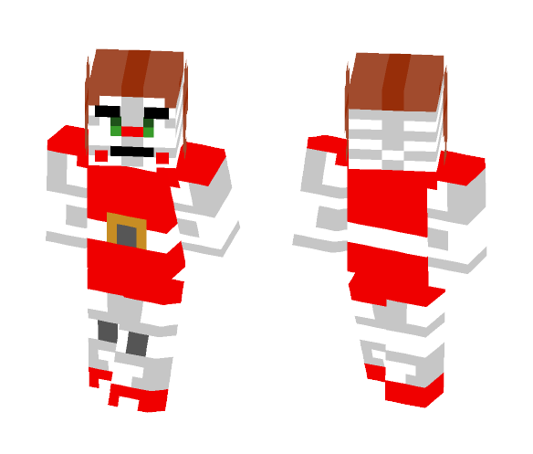 Circus Baby - Female Minecraft Skins - image 1