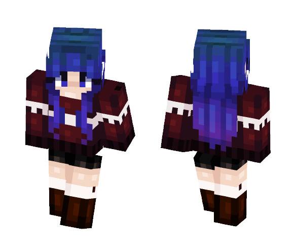Private Skin - Busty Babe - Female Minecraft Skins - image 1
