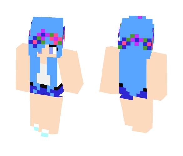 Vamber Flowers {Cherry} - Female Minecraft Skins - image 1