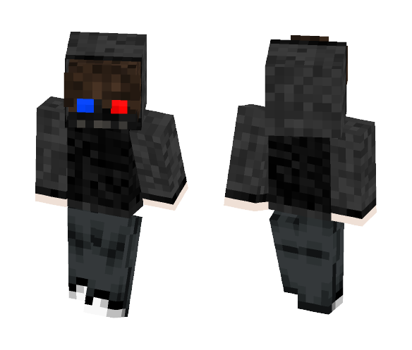 3D Goggles killer. - Male Minecraft Skins - image 1