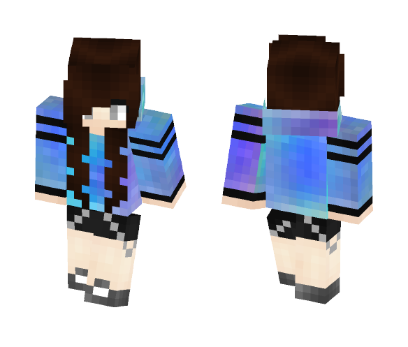 galaxy girl? - Female Minecraft Skins - image 1