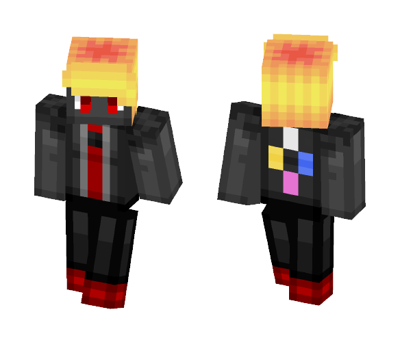 Download Obsidian -Steven Universe Gemsona- Minecraft Skin