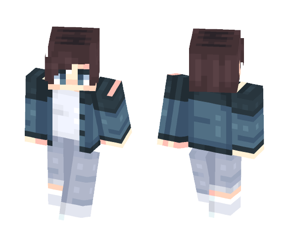 We're not just friends - Male Minecraft Skins - image 1
