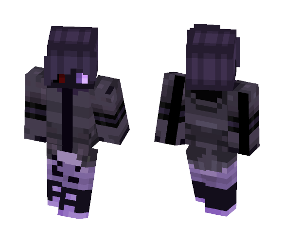 Corrupted Ash - Male Minecraft Skins - image 1