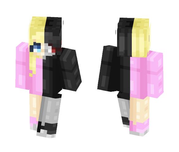 this is who i really am inside - Female Minecraft Skins - image 1
