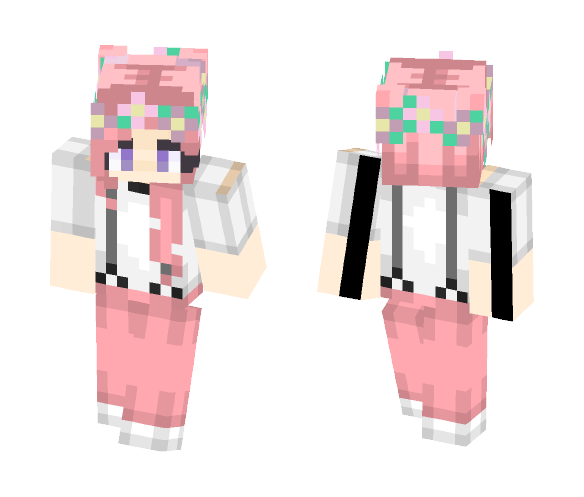 Cotton Candy - Female Minecraft Skins - image 1
