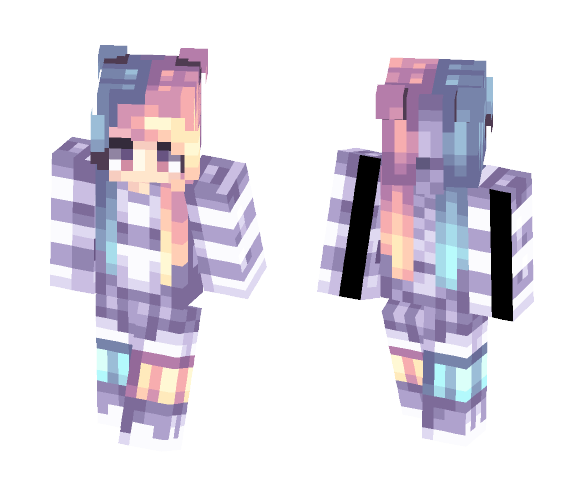 cotton candy // many yums - Female Minecraft Skins - image 1