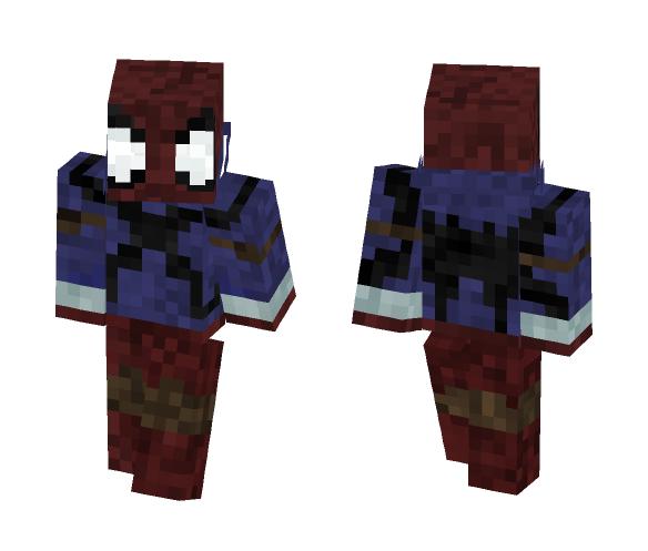Futuristic Scarlet-Spider - Male Minecraft Skins - image 1