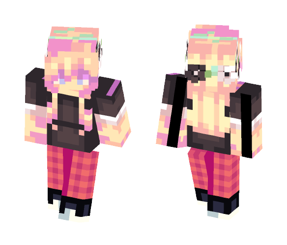 Casual Pjs. c: - Female Minecraft Skins - image 1