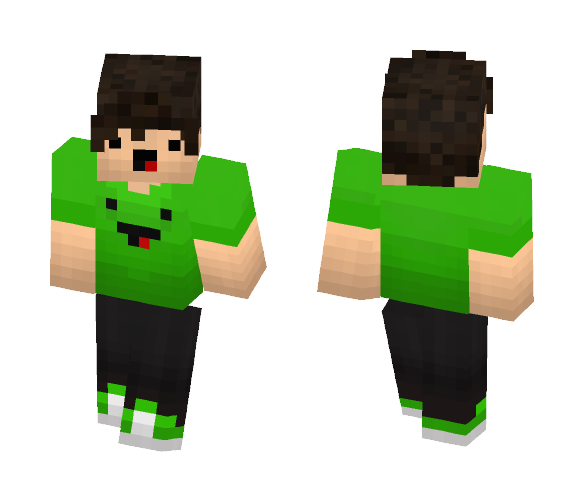 He is so freaking happy - Male Minecraft Skins - image 1