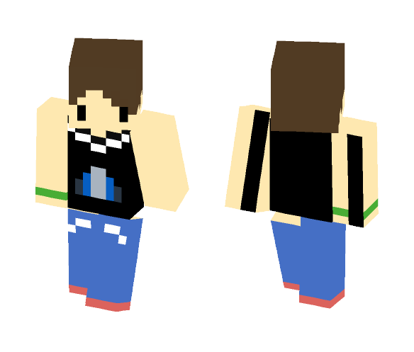 Casual Outfit ~ Male - Male Minecraft Skins - image 1
