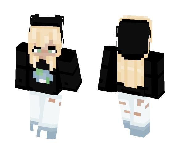my glasses broke fml - Female Minecraft Skins - image 1