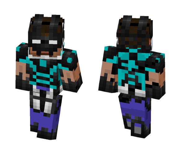 Herobrine armor - Male Minecraft Skins - image 1