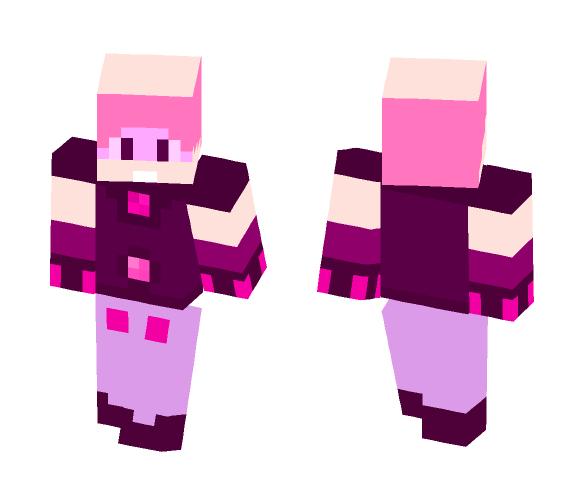 Download my rose quartz gemsona oc Minecraft Skin for Free