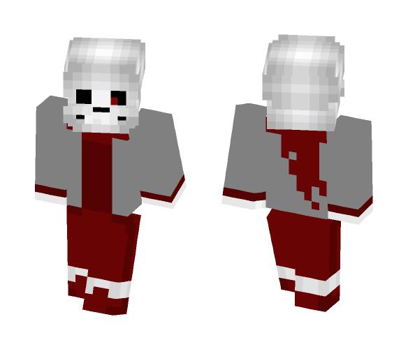 Genocide ! Swap Sans - Male Minecraft Skins - image 1