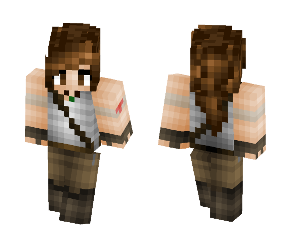 Lara Croft - Tomb Raider - Female Minecraft Skins - image 1