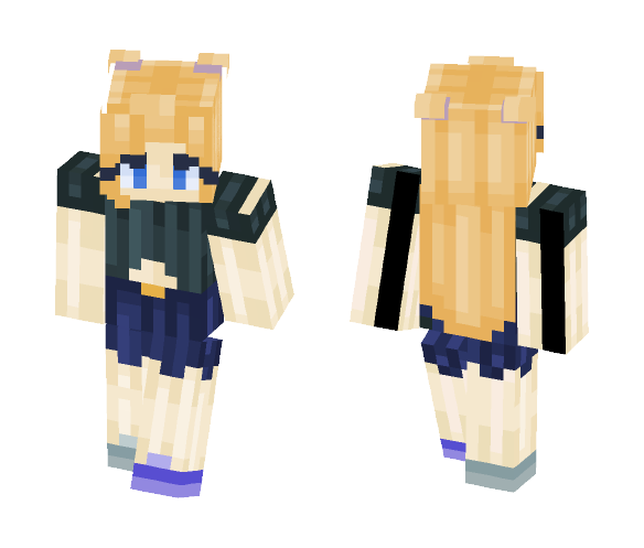 I tried something new, and failed. - Female Minecraft Skins - image 1