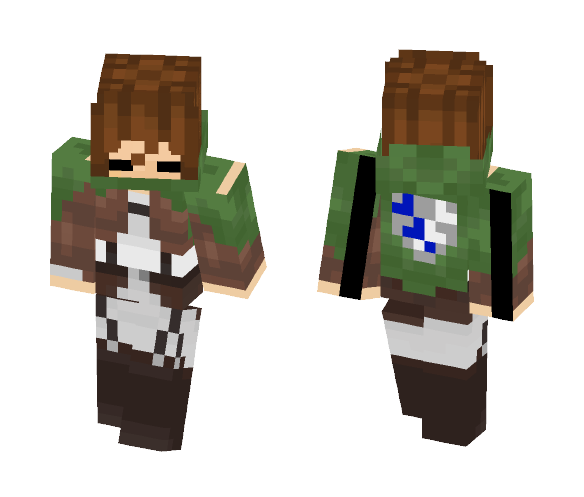 Download Attack On Titan Minecraft Skin for Free